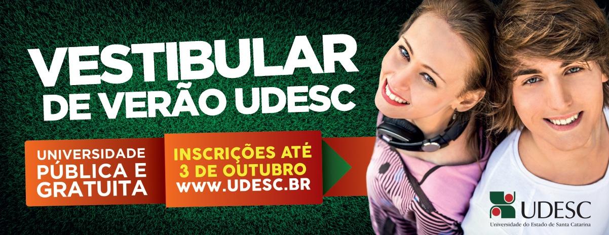Vestibular UDESC 2022