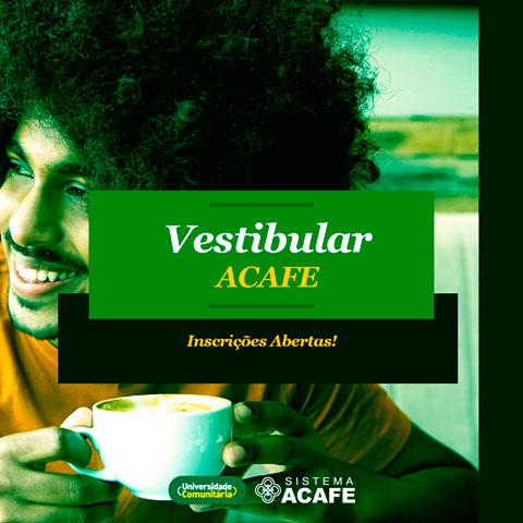 Inscrições ACAFE Vestibular 2022